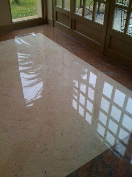 Marbre au sol amazing carrelage marbre crema marfil poli - Marbre au sol ...
